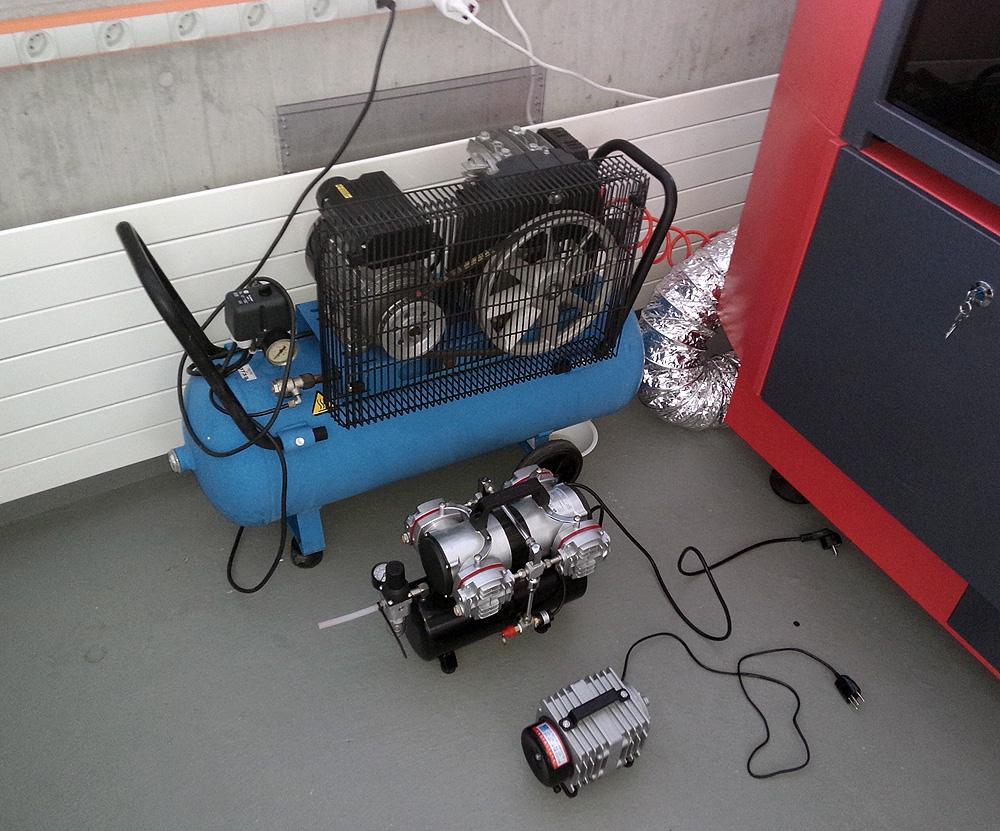Air Compressor For Laser Cutter Engraver Artesea Gmbh